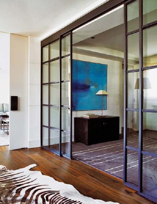 25 ideas de puertas interiores para el hogar - Instalacion puertas correderas ...