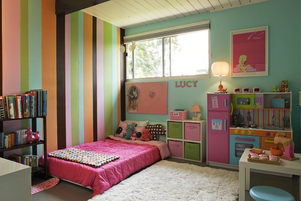 20 ideas de habitaciones para ni os y ni as for Dormitorio nina barato