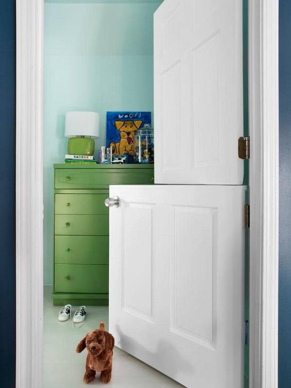 puerta en recámara doble hoja