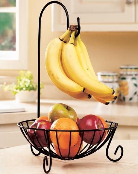 plátanos afuera de la heladera