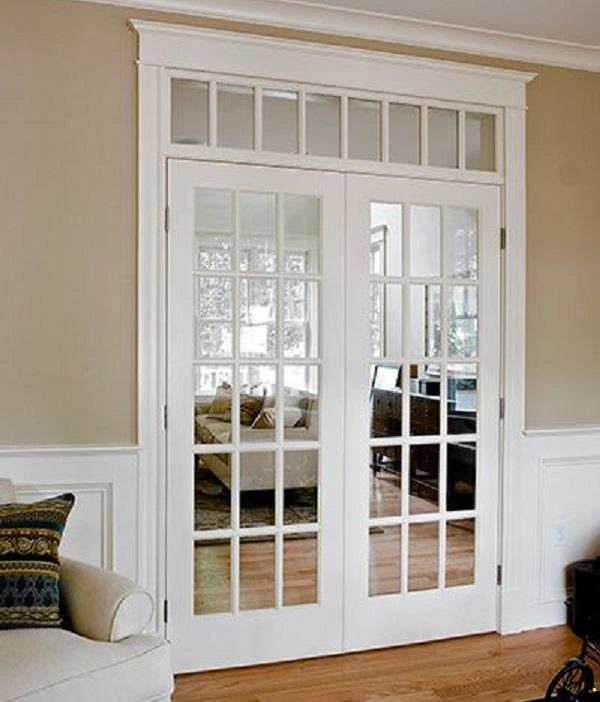 25 ideas de puertas interiores para el hogar for Puertas dobles de madera interior