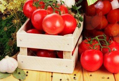 Almacenar tomates