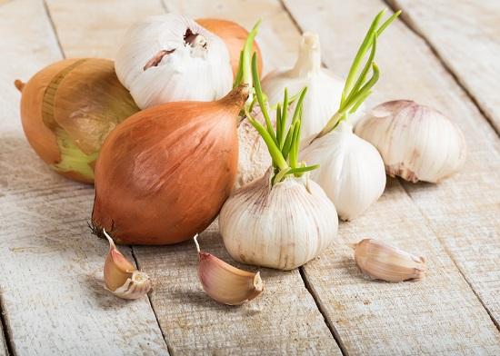 ajo y cebolla para tratar la ateroclerosis