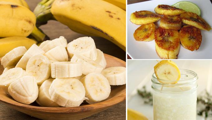 bananas saludables