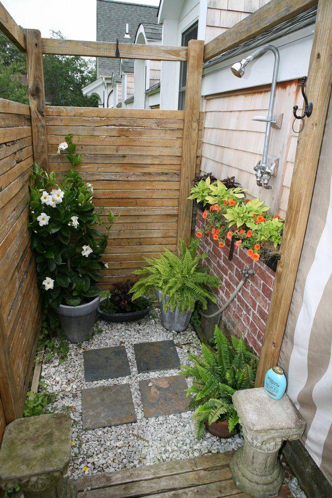 ducha para el patio