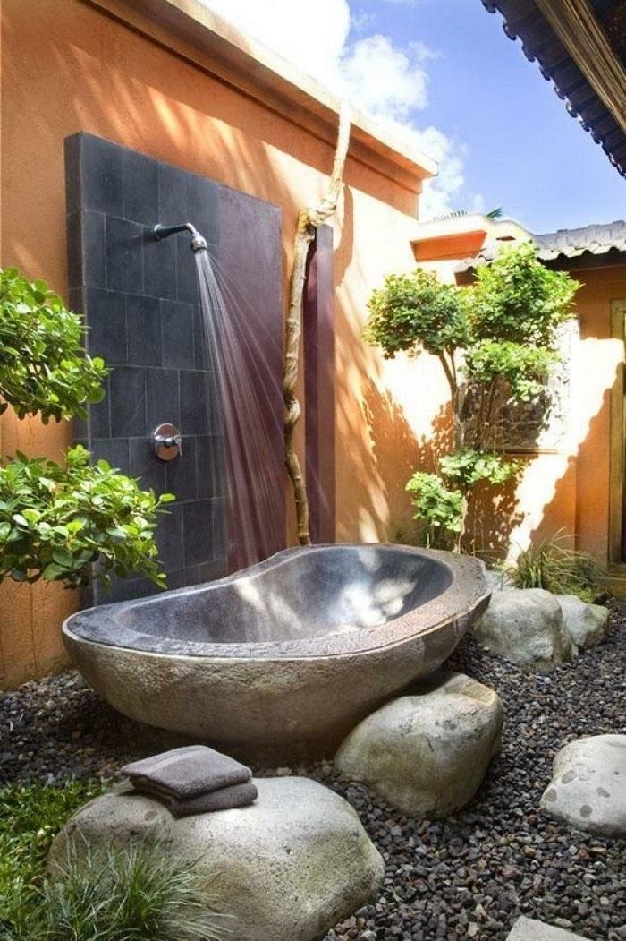 duchas naturales con bañera