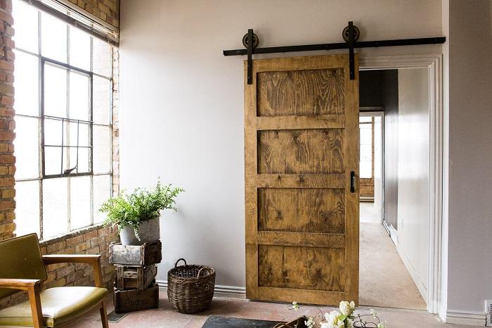 25 ideas de puertas interiores para el hogar for Diseno de interiores para hogar