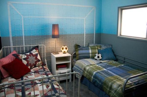 habitación doble para chicos