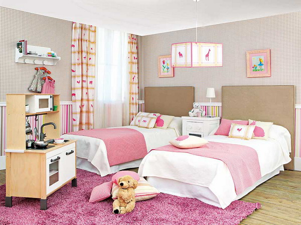 20 ideas de habitaciones para ni os y ni as for Habitaciones decoradas para ninas