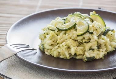 receta de calabacin y arroz integral