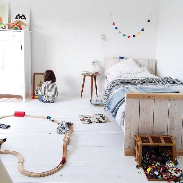 cuarto habitación blanco