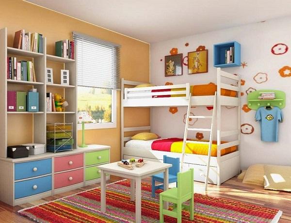 habitaciones con color