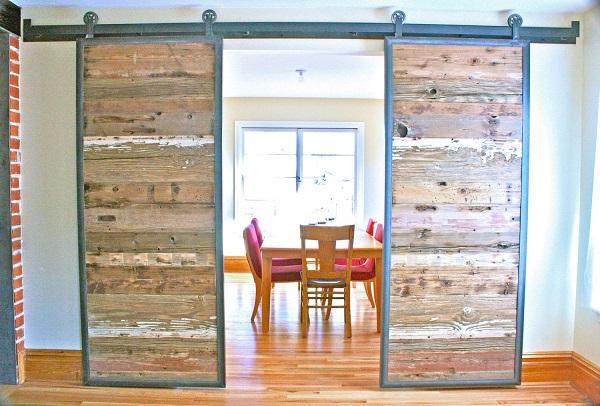 puertas interiores rústicas