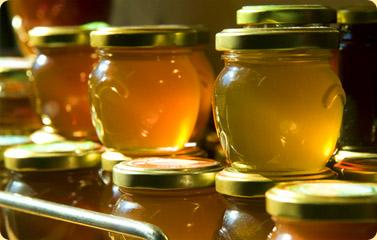 miel afuera de la heladera