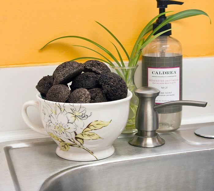 limpiadores naturales con café