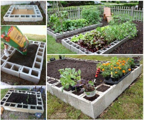 22 dise os funcionales de decoraci n con bloques de concreto for Bloques cemento para jardin