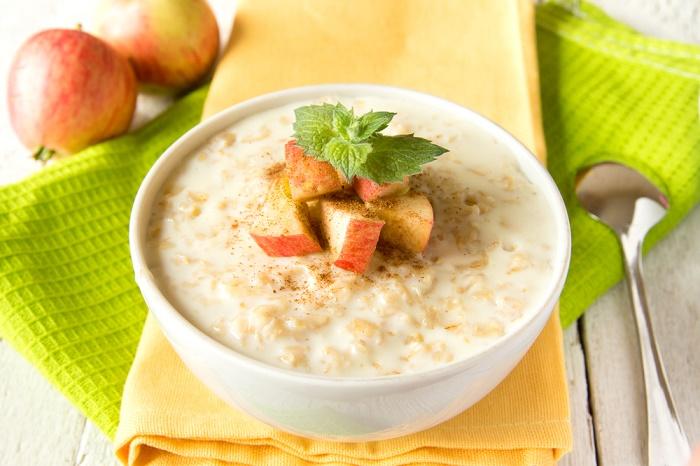perder peso con manzana y canela