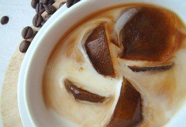 Cubos de hielo de café