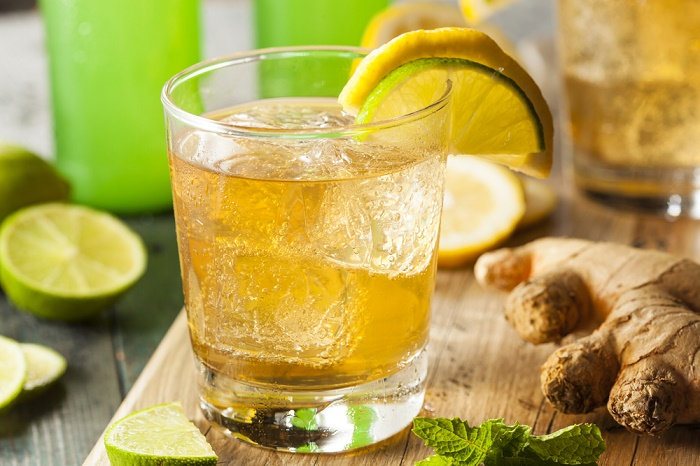 Ginger ale cerveza de jengibre