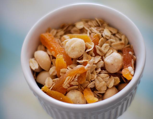 perder peso con granola