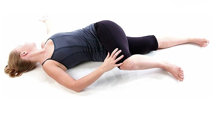 aliviar el estrés con posturas