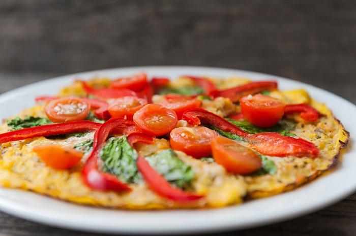 corteza de quinoa para pizza