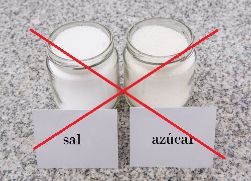 perder peso no sal y no azúcar