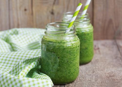 batido verde para bajar peso