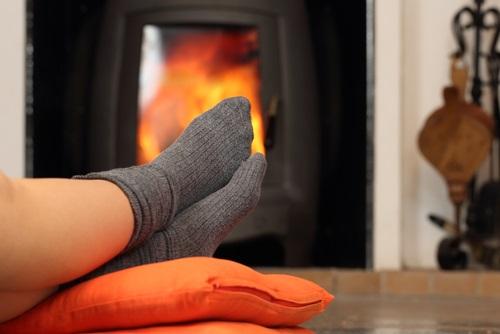 calmar los pies fríos