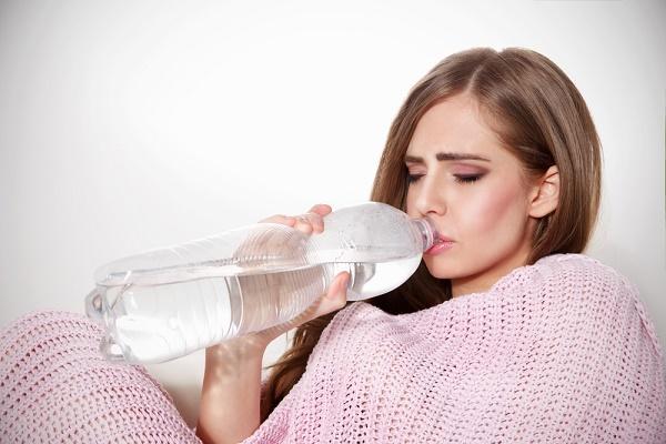 sacando las toxinas del cuerpo