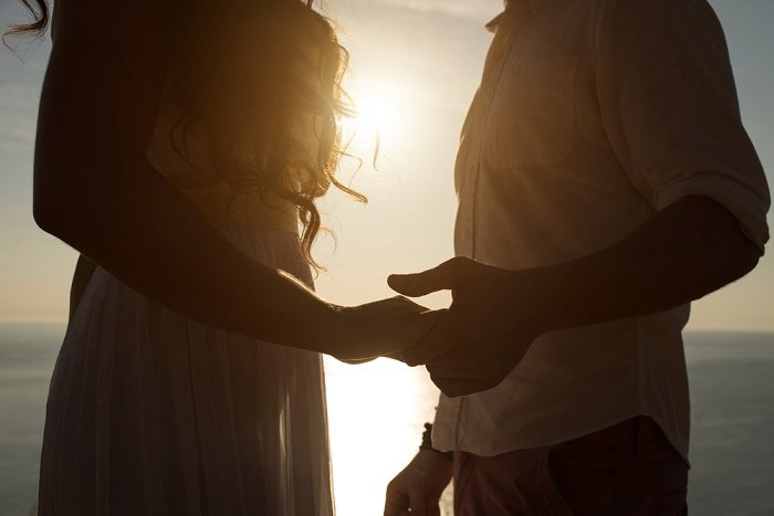 pareja casarse