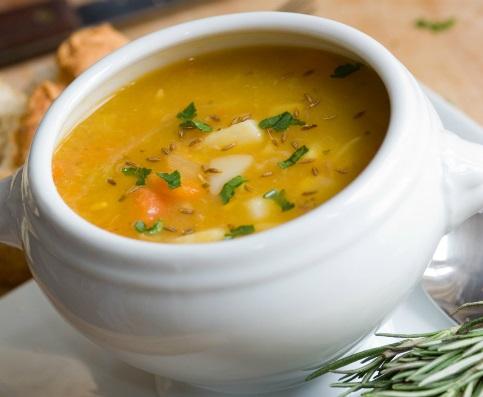 sopa cremosa para bajar de peso