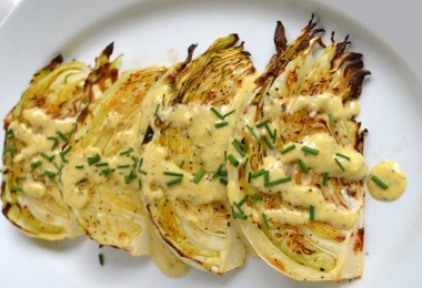 Roasted-Cabbage-Wedges-with-Onion-Dijon-Sauce_620x950