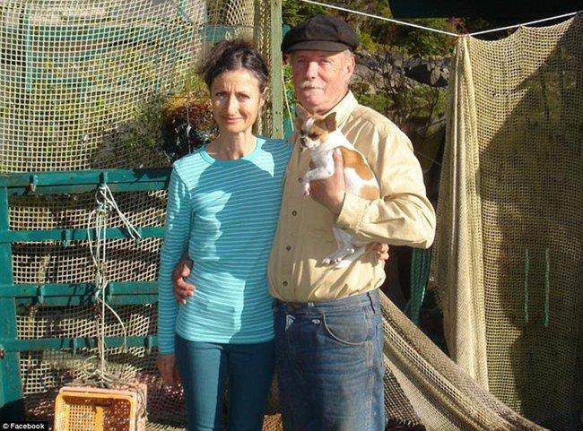 Wayne Adams y Catherine King