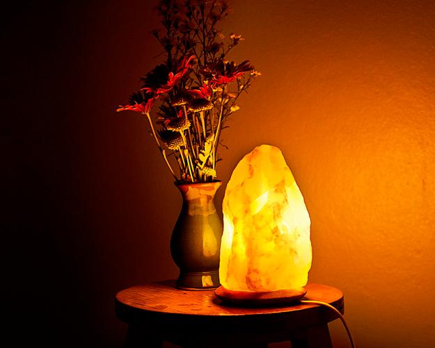 lámparas de sal del himalaya usos