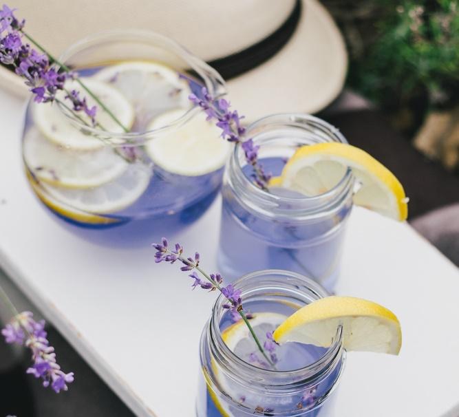 limonada de lavanda para dolor de cabeza y ansiedad