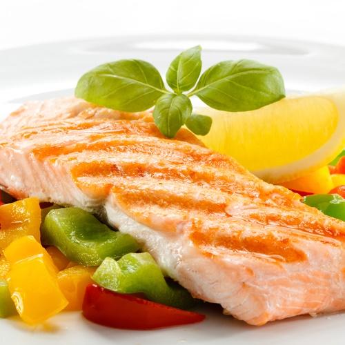 pescado y vegetales dieta de eliminación