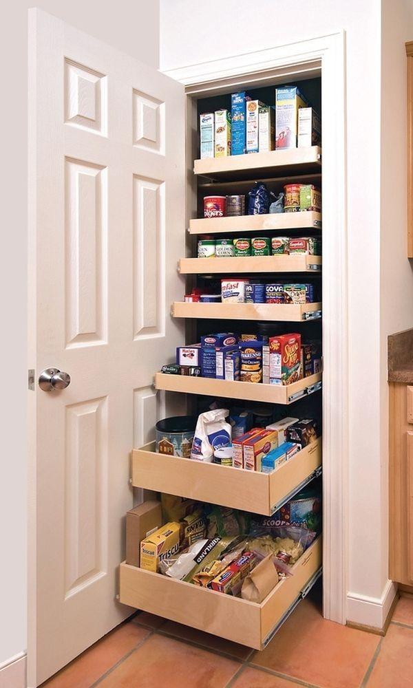 organizando alimentos