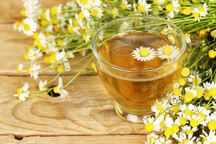 té de manzanilla para diabéticos