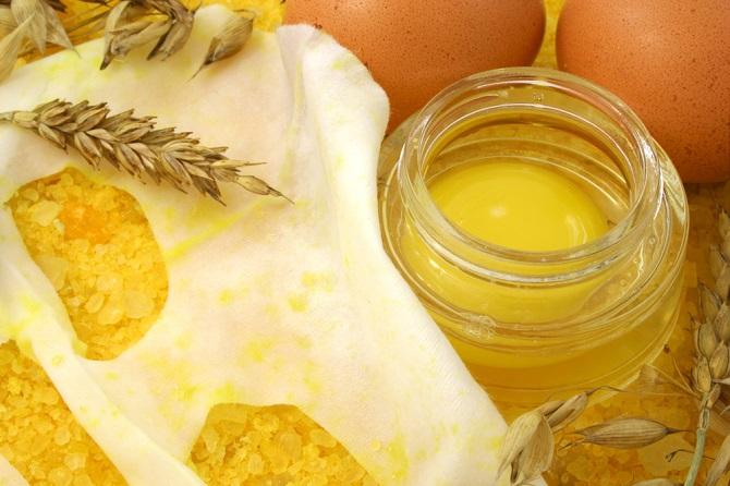 usos del huevo para el cabello