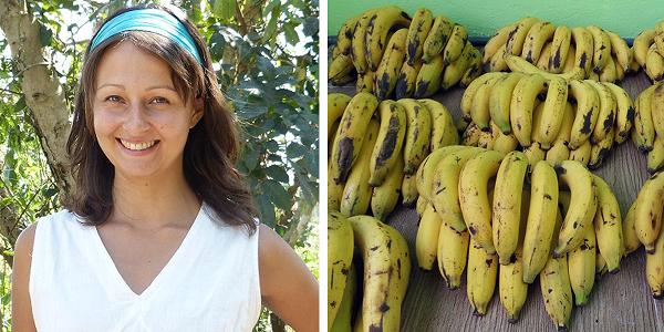 2 días comiendo plátanos