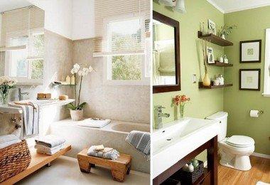 La decoración del baño estilo feng shui