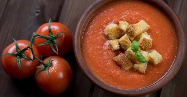 beneficios del gazpacho y como elaborar una receta