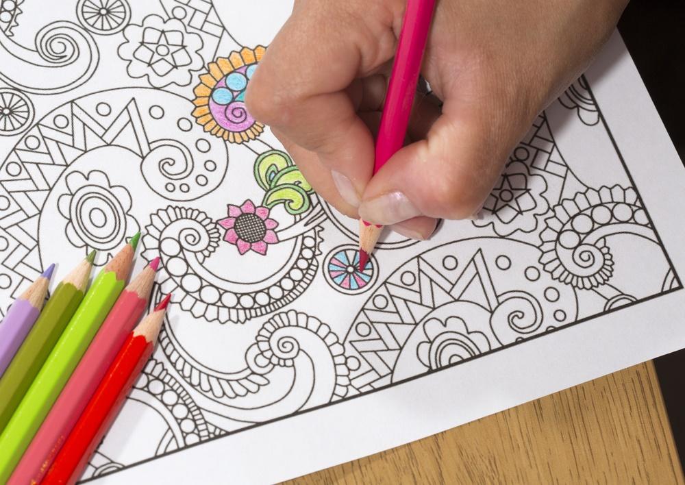 Colorear libros es una terapia antiestrés