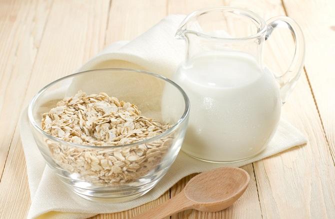 como hacer leche de avena