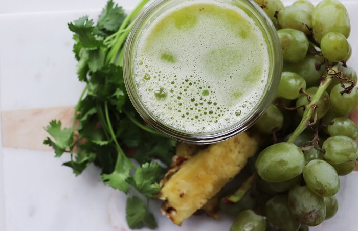 dietas para quemar calorías con jugo de uva