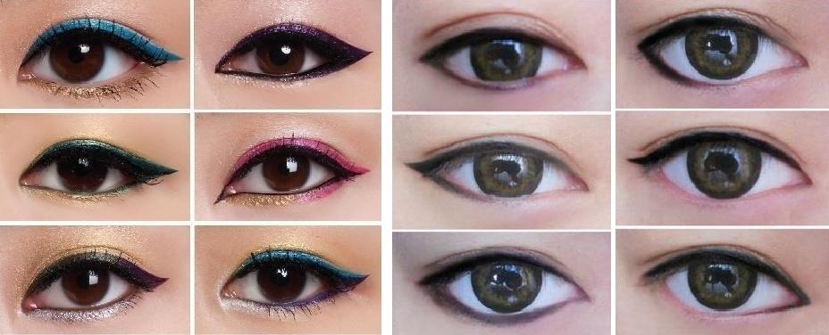 maneras de delinear los ojos