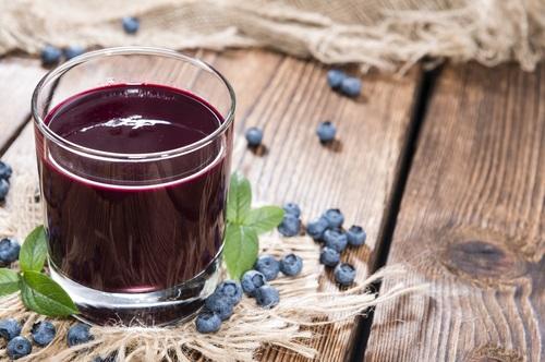 jugo de arándanos para depurar el organismo