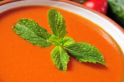 receta para preparar gazpacho andaluz