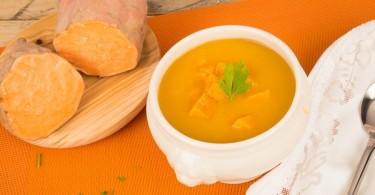 sopa de batata camote crema de papa dulce